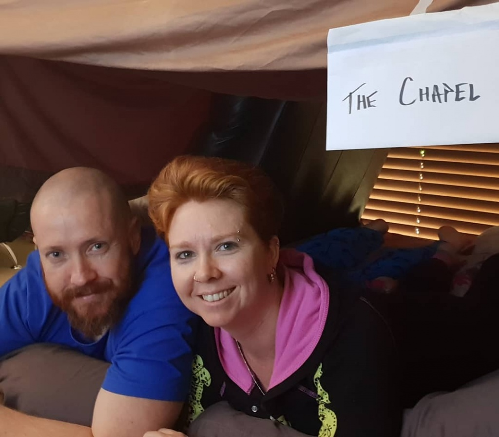 Married In A Pillow Fort – Vows Now